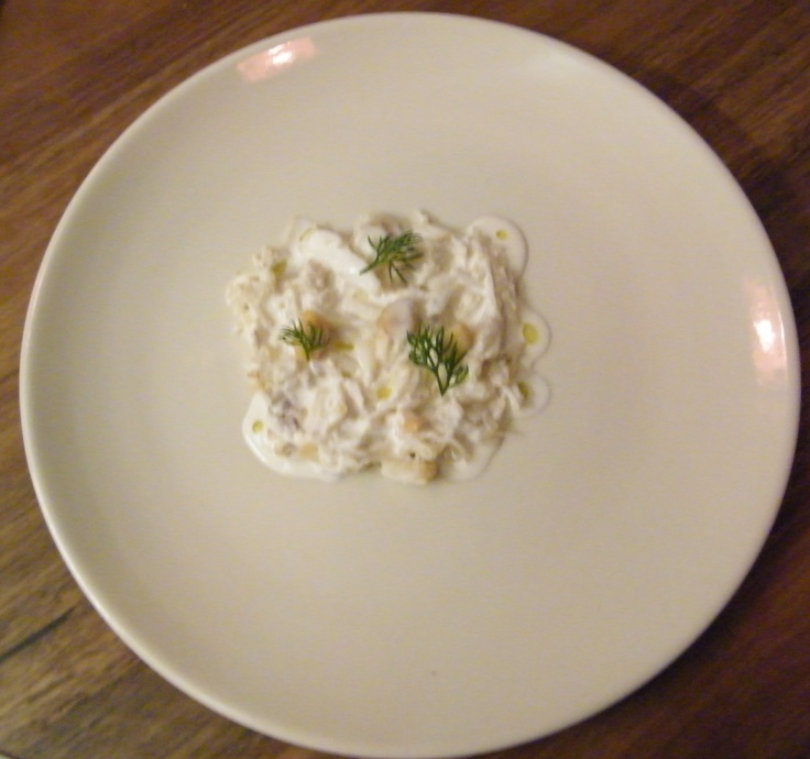 Crab, Silky Macadamia & Camomile
