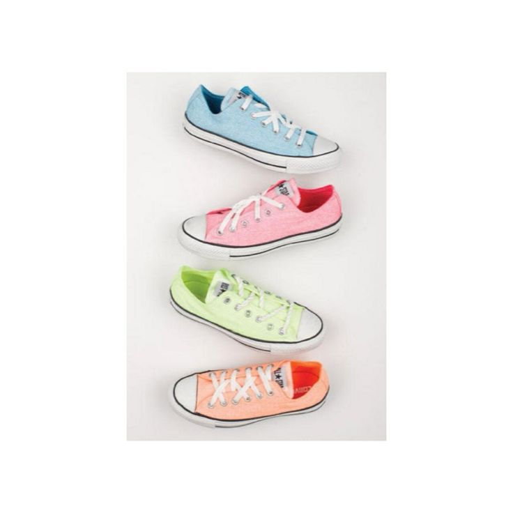 love the neon! #cute #neon #converse #colors #love