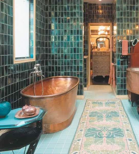 Тяжелые чугунные ванны снова в моде! | SheDesign.ru