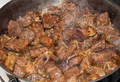 Приготовление самого вкусного мяса.