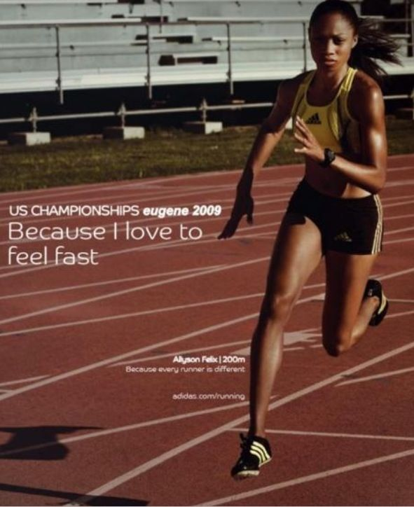 ~Allyson Felix quote #doactiveproducts #humansdoing