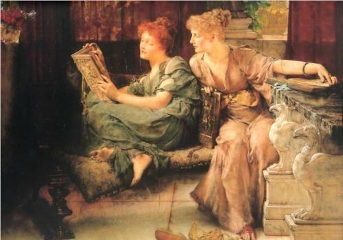 Comparisons - Sir Lawrence Alma-Tadema
