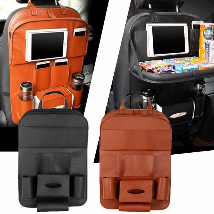 ==> [Free Shipping] Buy Best Car Back Seat Pockets Pad Tablet Bag Holder Hanging Storage for Food Toy Pocket Online with LOWEST Price | 32813406847