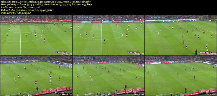 FULLMATCH Serie A AC Milan vs Juventus Giornata 3 (20-09-2014) - FullMatch | Sports Match