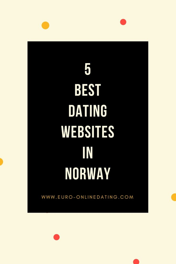 Online-dating-sites in norwegen