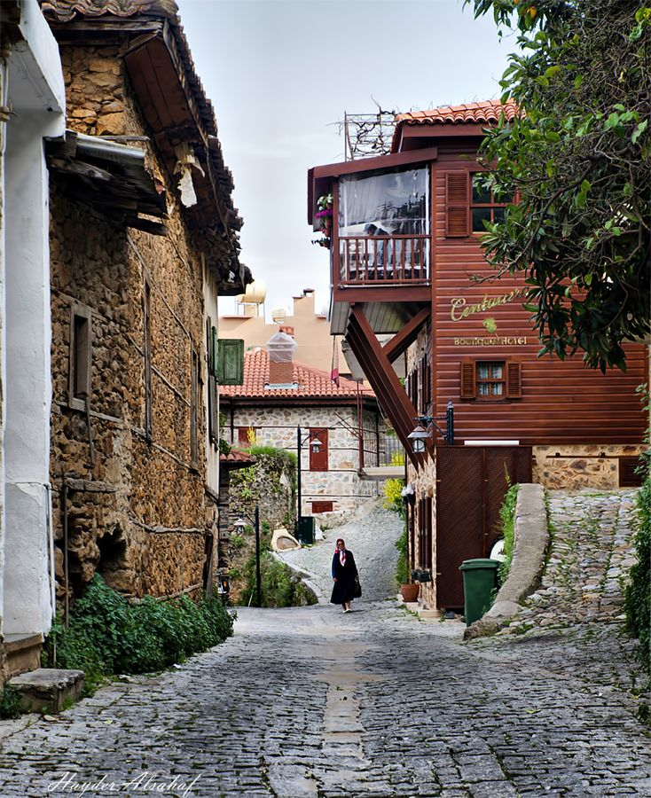 "Alanya, Turkey • ""The old town"" by Hayder Alsahaf on http://500px.com/photo/6352028"