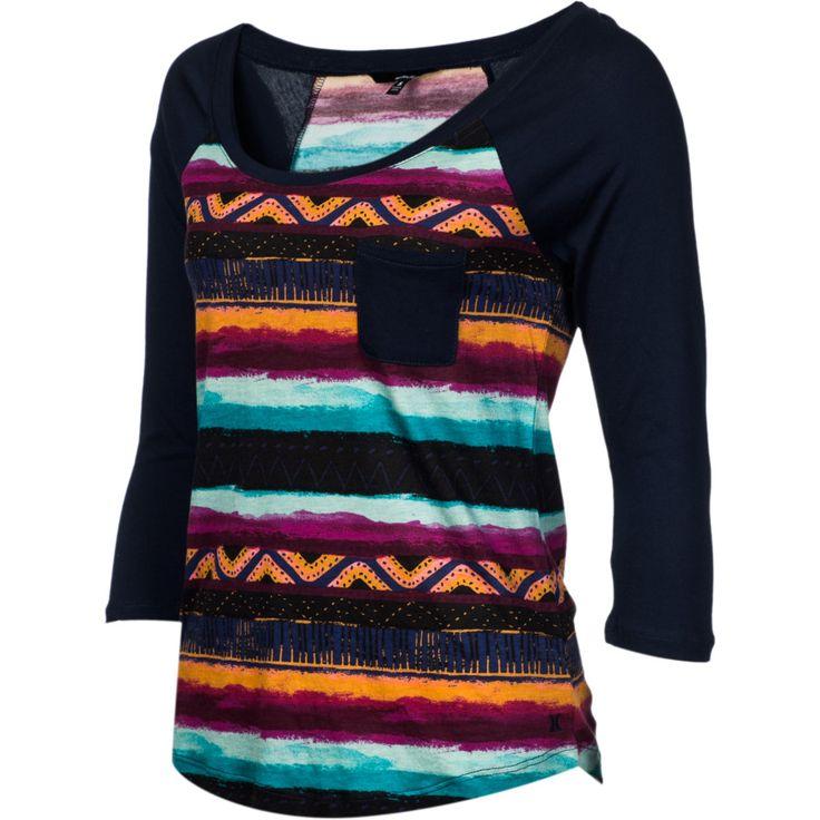 hurley women's shirt  | Hurley Casablanca Shirt - Long-Sleeve - Women's | Dogfunk.com