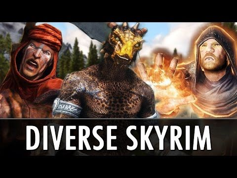 DIVERSE SKYRIM at Skyrim Nexus - mods and community