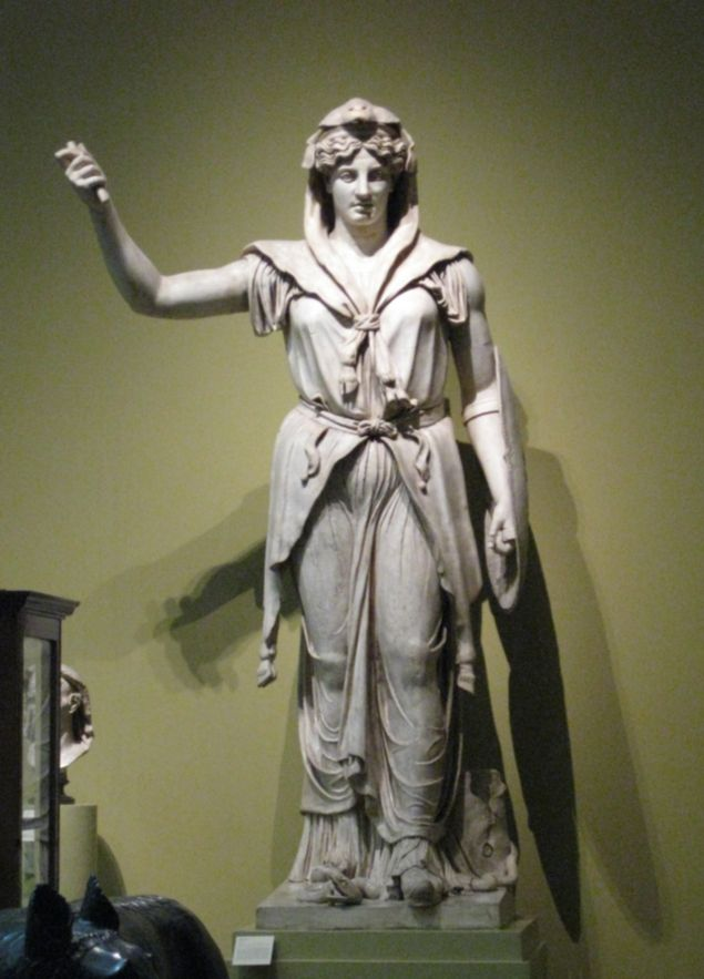 Juno ---------------- (Roman Mythology)