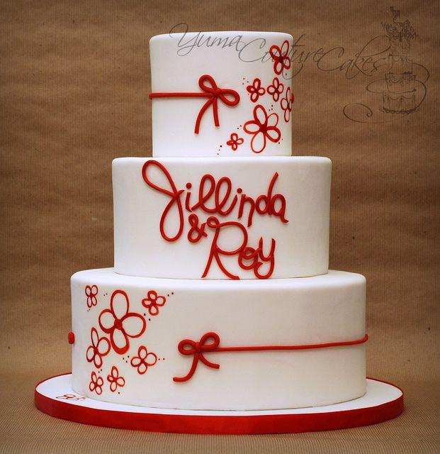 137 best wedding cakes red white images on pinterest cake yuma couture cakes custom wedding and birthday cakes in yuma arizona junglespirit Gallery