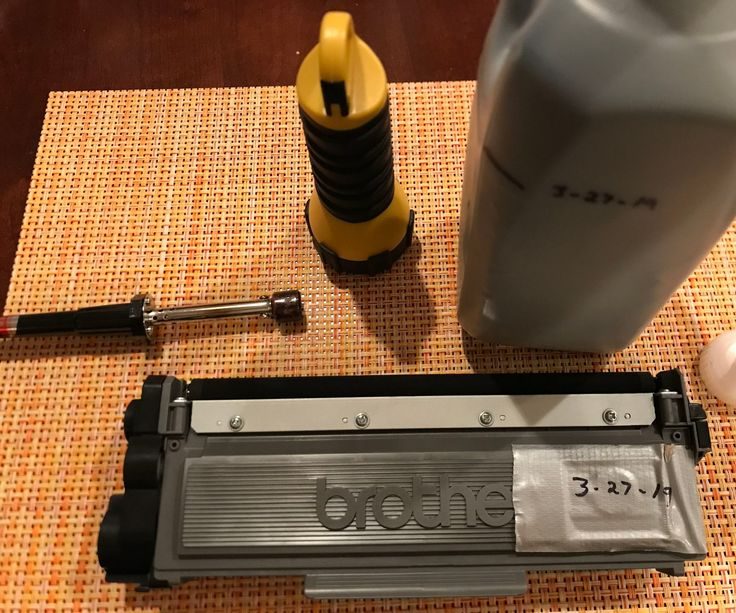 Refill Your Laser Printer Toner Cartridge the Easy Way
