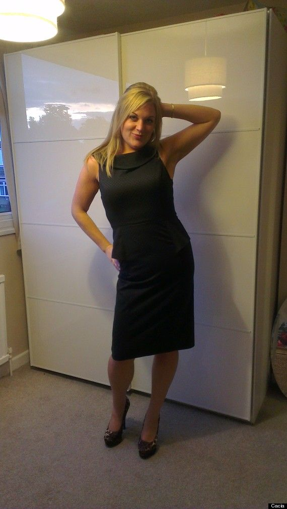 cacia. After dropping several dress sizes. using Cambridge Diet