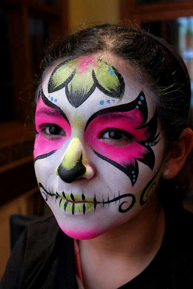 Face paint inspiration sugar skull