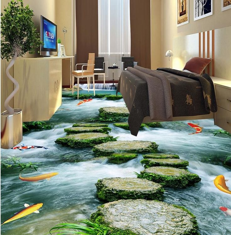 27 00 buy here fish liver 3d wallpaper floor for living room 3d wall murals