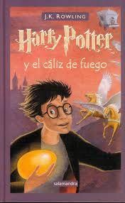 Harry Potter y el cáliz de fuego JK Rowling