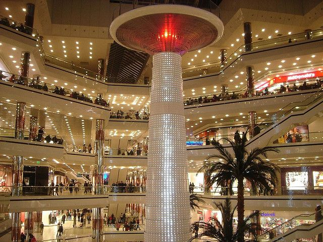 Instanbul Cevahir in turkey (Huge Shopping Mall)