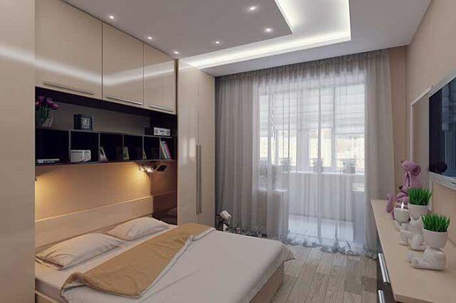 Как вам такой дизайн спальни?