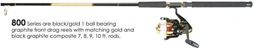 Master Fishing Tackle DN173WL 860 Combo Reel BlackGold -- Details can be found by clicking on the image.