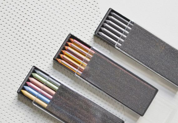 Leads for mechanical clutch pencil metallic by MightyPaperShop