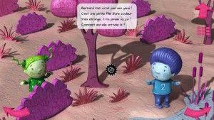 Livre interactif Ipad et Androïd: Bernard Bleu. Pour les 4  - 8 ans. App-Enfant.fr. La suite de l'Amie de Zoé. Une belle histoire sur la différence, de magnifiques illustrations et de l'interactivité à revendre.