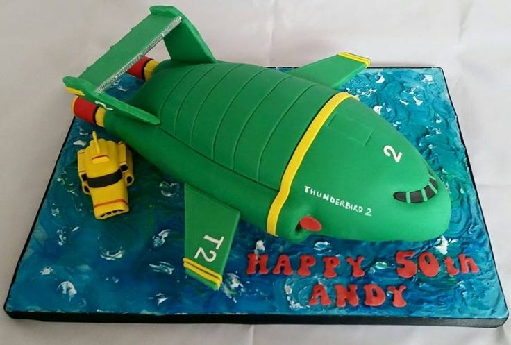 Thunderbirds 2 on Cake Central