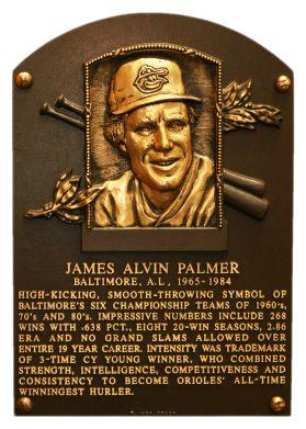 Jim Palmer - Baltimore Orioles MLB 1990