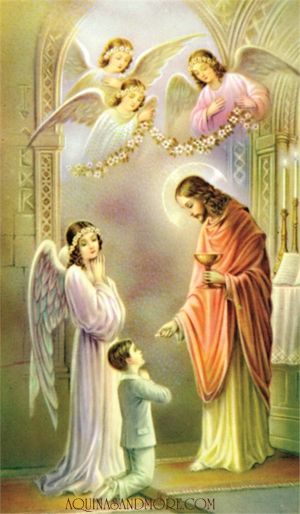 Boys Thanksgiving After Holy Communion Laminated P
