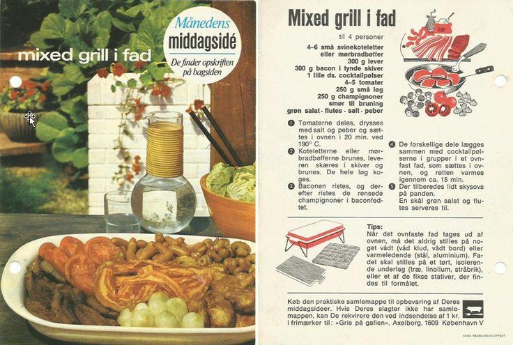 Mixed grill i fad.