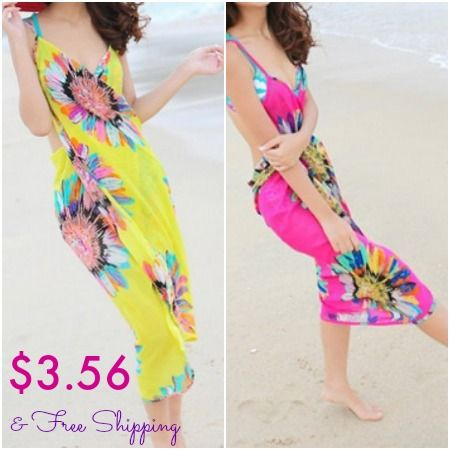 HOT! Women's Swimsuit Cover Ups As Low As $3.56 + Free Shipping! See it now ---------> http://www.discountqueens.com/hot-womens-swimsuit-cover-ups-as-low-as-3-56-free-shipping/