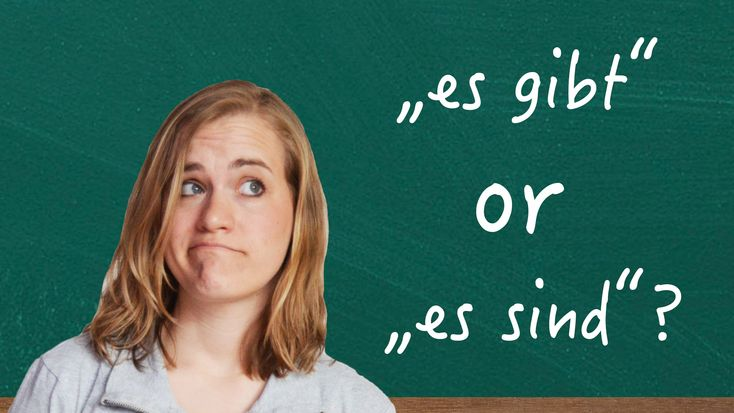 "German Lesson - The Difference Between ""Es gibt..."" & ""Es sind..."" - B1"