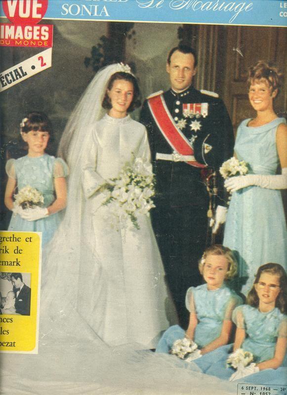 Harald de Noruega y Sonia Haraldsen