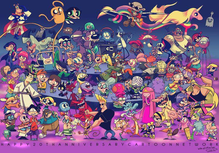 cartoon network   Cartoon Network 20th Anniversary Party