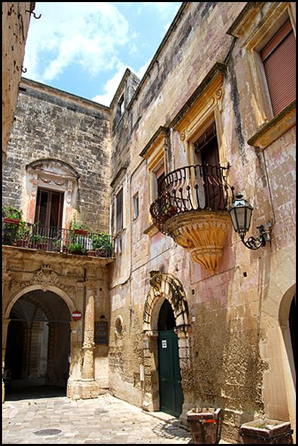 Old town, Otranto, ITALY