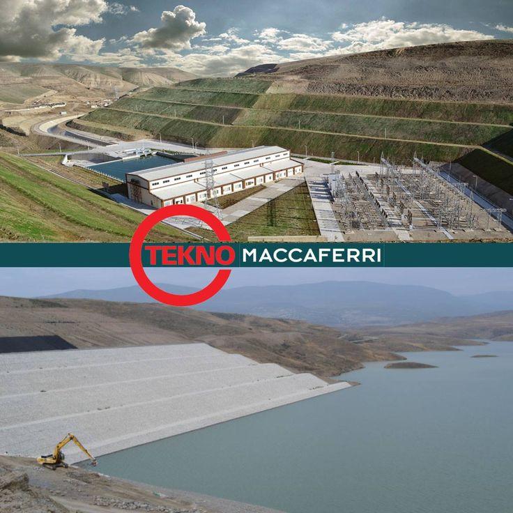 Tekno Maccaferri Türkii Cumhuriyetlerinde Projelerine Devam Ediyor. Erozyon Kontrolu amacı ile 120.000,00m² Şilte Gabion, 120.000,00 m² Geotekstil ve 80.000,00 m² MAcMat R malzemesi, Beton Su Kanallarının İzolasyonu için 180.000,00 m2 Geotekstil ve 300.000,00m² HDPE Geomembran temin edilmiştir.