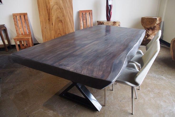 Table NATURE, d'une seule piece de bois. #acacia #bois #nature #homedecor