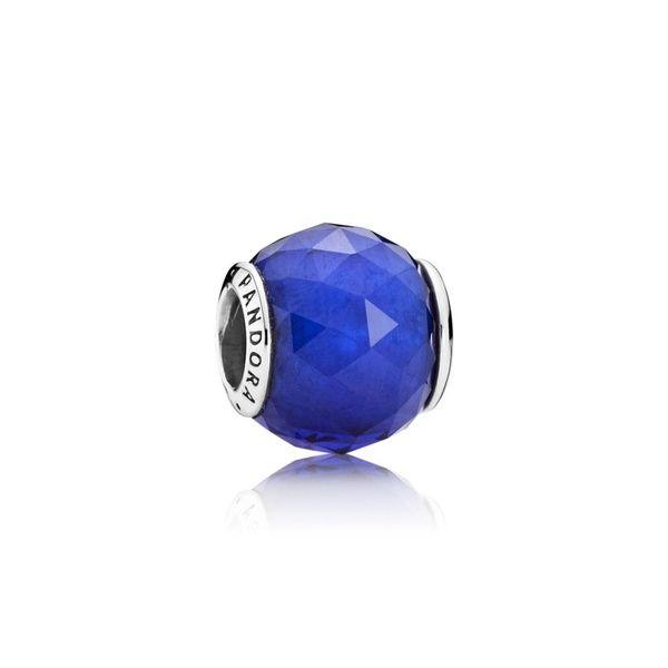 charm pandora bleu roi