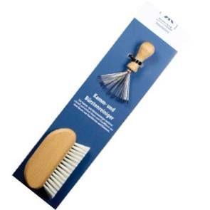 Rengörings-set för hårborstar av alla slag finns hos Västerbottenssåpa.