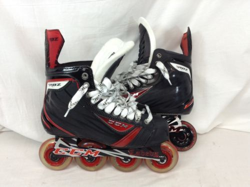 CCM RBZ / RBZ 80 Mismatch Roller Hockey Skates Senior 8 D Worn Once SK1449 IHH