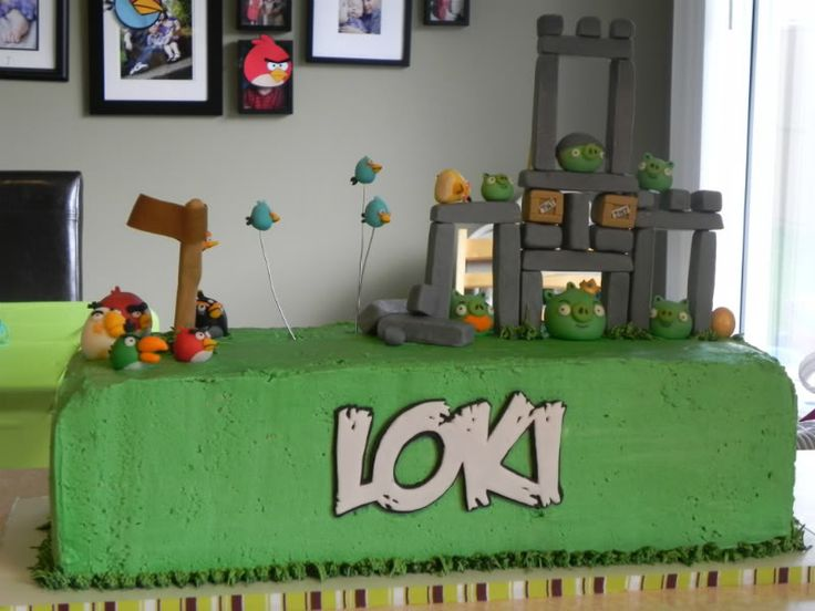 15 best 6th party ideasangry birds images on Pinterest Angry