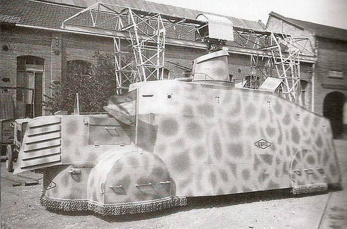 1936-1939: Tiznaos, improvised armoured cars of the Spanish civil war