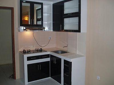 Gambar Desain Dapur Minimalis Kecil Terbaru