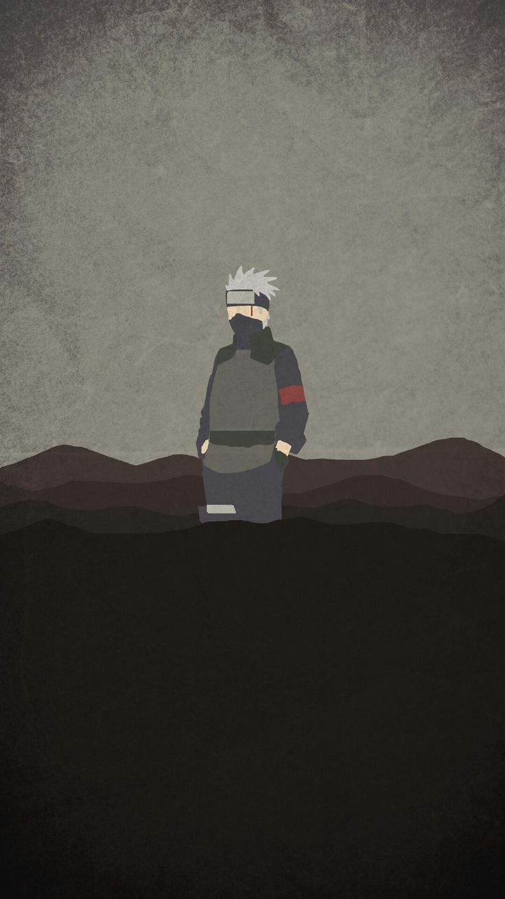 Naruto Minimalist Mobile Wallpaper