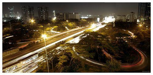 Cityscape view of Jl. Gatot Subroto - Jakarta, Indonesia