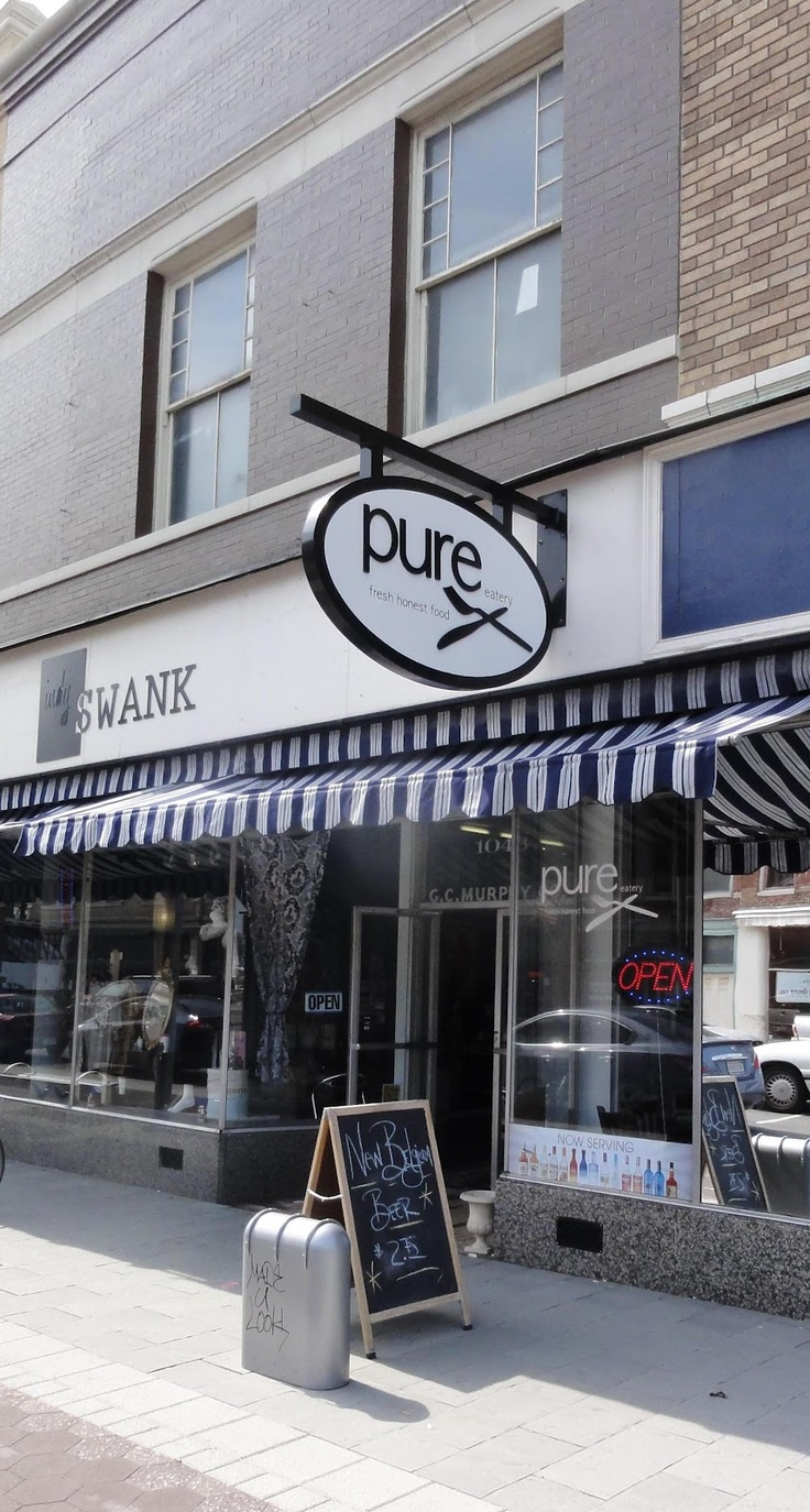 Pure Eatery  1043 Virginia Ave  Indy 46203  317/602-5724  ww.pureeatery.com