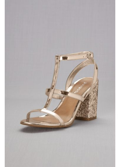 2675156724c These in silver not gold Block-Heel Strappy Sandals with Chunky Glitter  APPETITE40S