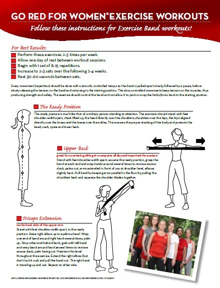 Great example of exercises to promote heart health!