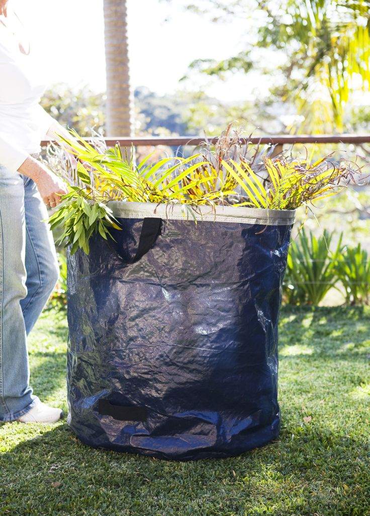 BIG TUFF BAG - garden and foliage collection 295 litre giant garden waste bag