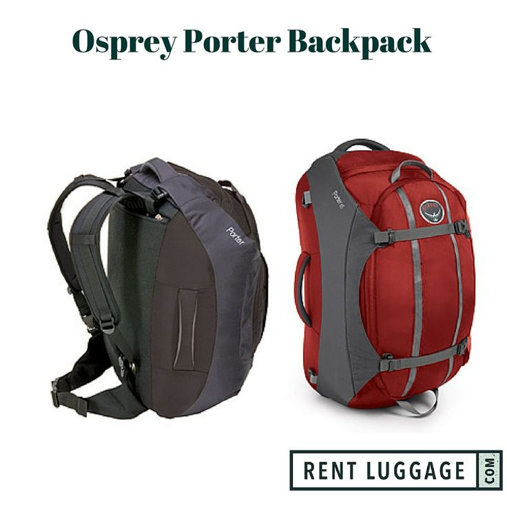 Osprey Porter 65 Rental. Upcoming trip? Use this backpack to see the world for a fraction of the cost. #camping #traveltips