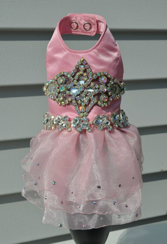 Pink Princess Bling Dress by KOCouture on Etsy, $225.00