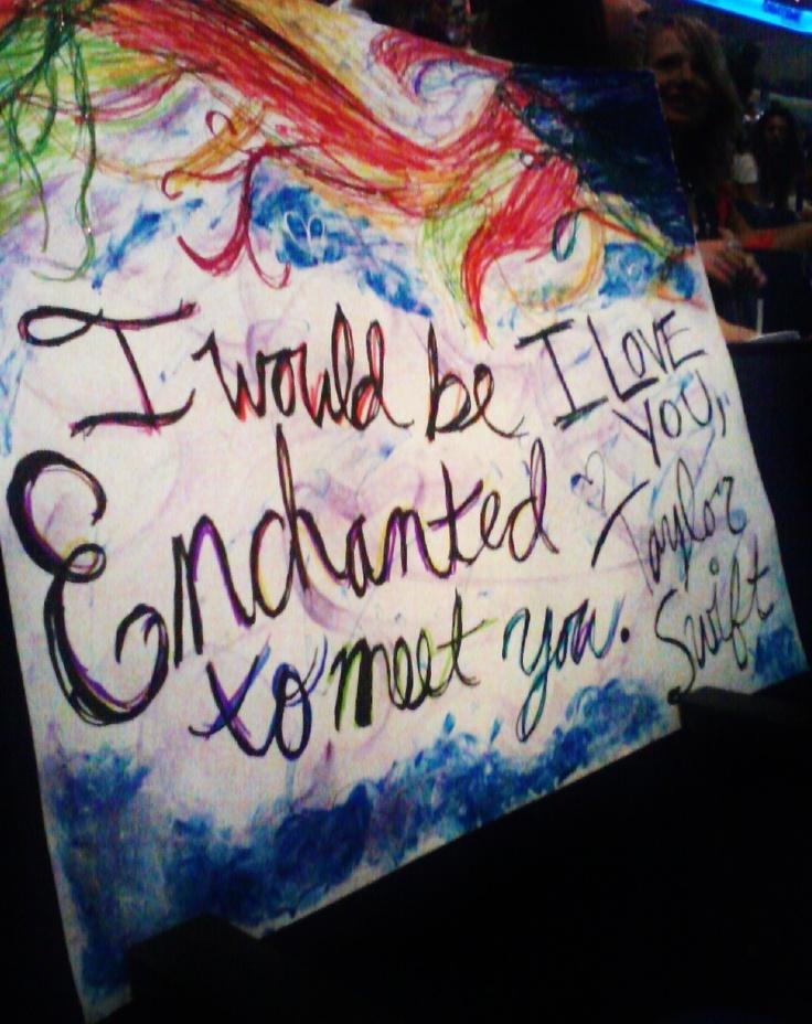 my t swift concert sign :)